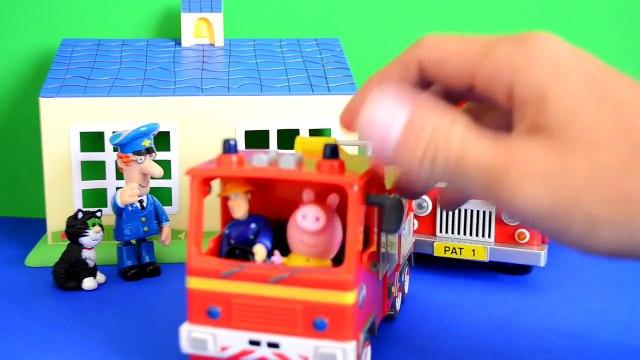 play-doh Fireman Sam Episode Peppa Pig Play-doh Postman pat Van Fire Fire Engine Story WOW