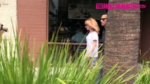 Kathy Griffin Uses Chrissy Teigen To Diverte Paparazzi In Beverly Hills 7.1.15 TheHollywoo