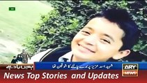 ARY News Headlines 15 December 2015, Heart Touching Report on APS Shaheed Asad Aziz