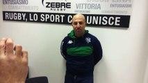 Casellato commenta Zebre - Benetton