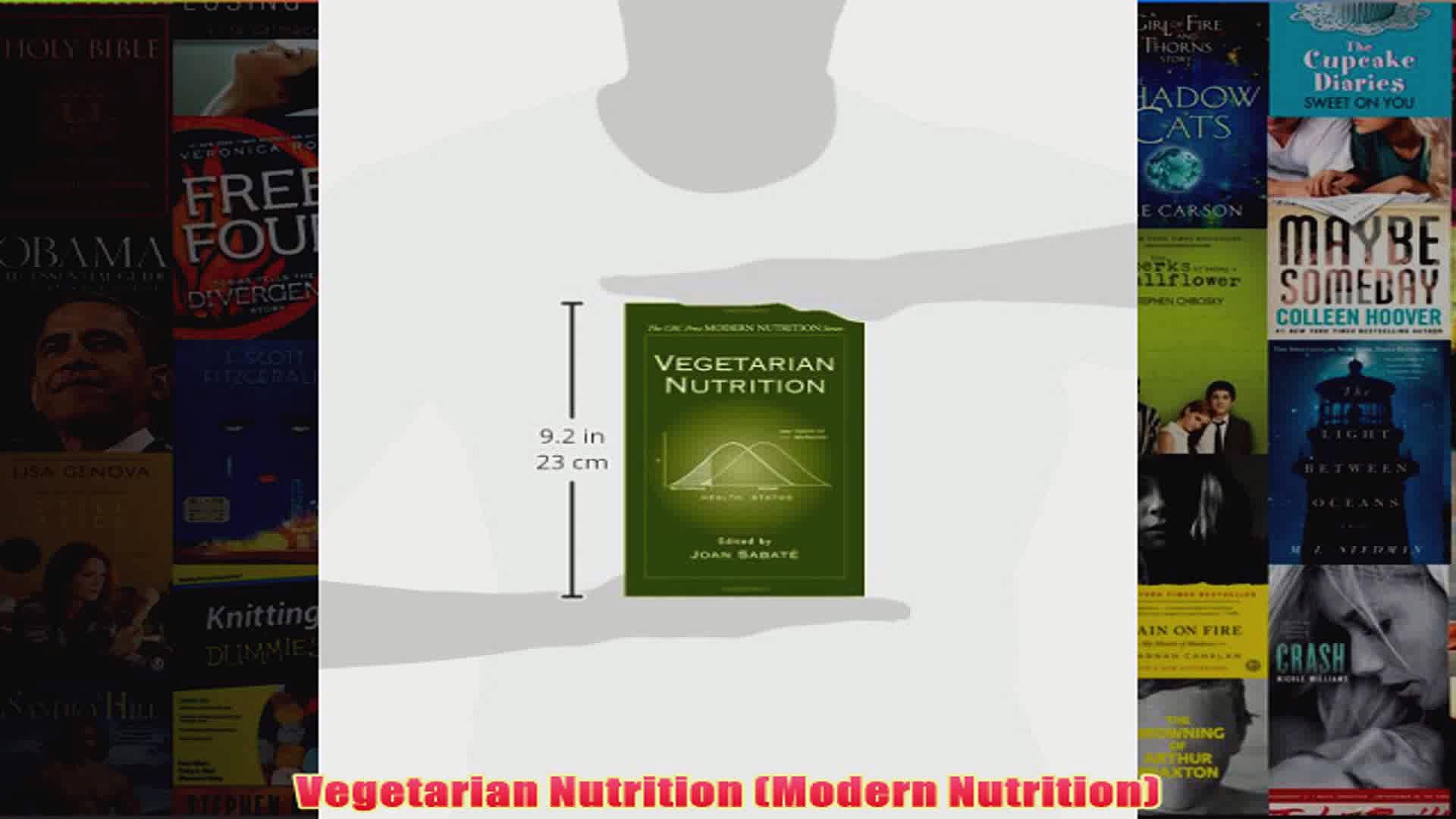 Vegetarian Nutrition Modern Nutrition