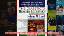 The Diabetics Healthy Exchanges Cookbook Large Print Cookbook