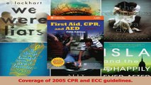 PDF Download  First Aid CPR And AED Standard Emergency Care and Safety Institute Read Full Ebook