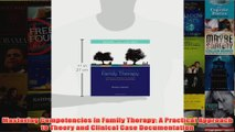 Mastering Competencies in Family Therapy A Practical Approach to Theory and Clinical Case