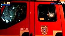 """Pompiers agressés à Ajaccio : """"On a vu des jeunes arriver avec des battes de base-ball"""""""