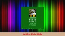 PDF Download  Leiths Fish Bible Download Full Ebook
