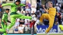 Shoaib Akhtar Vs Brett Lee Fastest & Dangerous - Amazing Bowling History