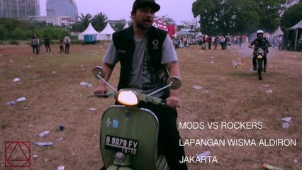 NTRL - Mods VS Rockers at Lapangan Wisma Aldiron