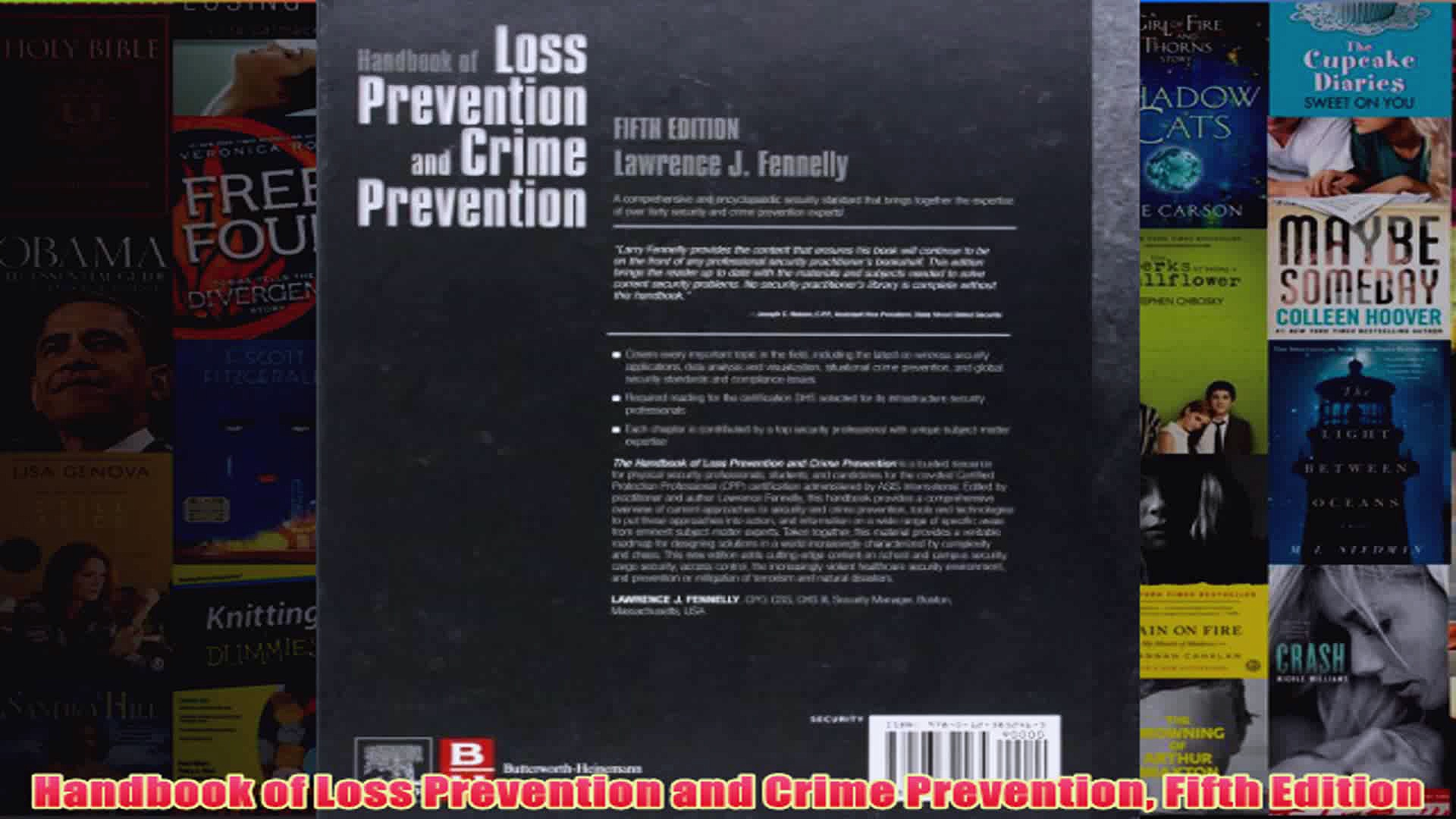Handbook of Loss Prevention and Crime Prevention Fifth Edition