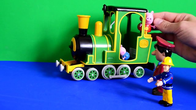 peppa pig dvd Fireman Sam Peppa pig Episode Greendale Train Postman Pat Play-doh Gorge Pig