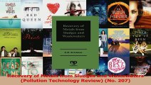 PDF Download  Recovery of Metals from Sludges and Wastewaters Pollution Technology Review No 207 Download Online