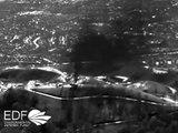Images aériennes de la fuite de gaz naturelle en Californie - Catastrophe naturelle