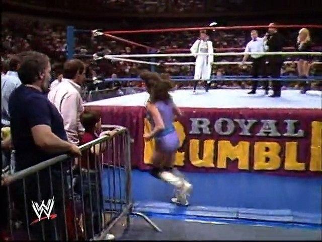 WWF Royal Rumble 1989 - Judy Martin Vs. Robin Smith