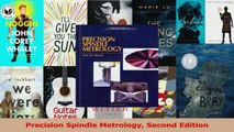PDF Download  Precision Spindle Metrology Second Edition Read Online