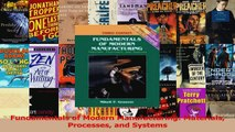 PDF Download  Fundamentals of Modern Manufacturing Materials Processes and Systems PDF Online
