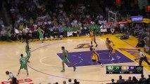 Kobe Bryants Bounce Pass to Russell | Maccabi Haifa vs Lakers | October 11, 2015 NBA Pres