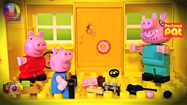 Playmobil New Peppa Pig Episode Playset Toys English Fireman Sam Postman Pat Little Sunflowers