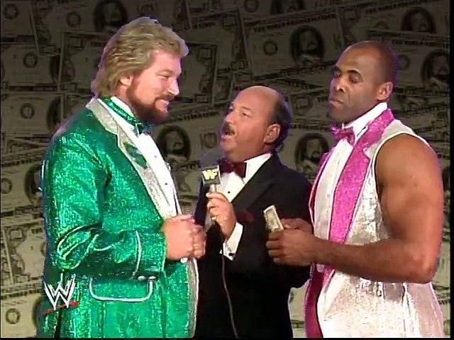 WWF Royal Rumble 1989 - Ted Dibiase Interview