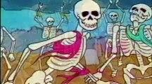 Danse Macabre Camille Saint-Saëns 1980s cartoon, PBS, Halloween, Music