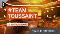 iTELE HD - Jingle Team Toussaint - Fin des titres (2014)