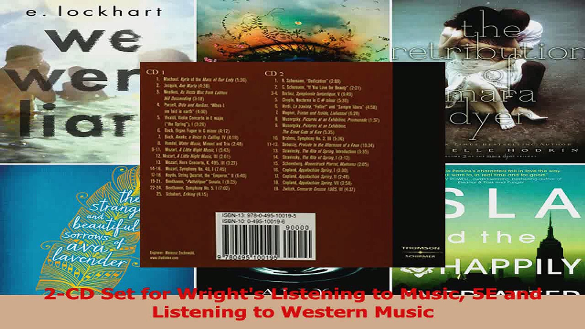 PDF Download  2CD Set for Wrights Listening to Music 5E and Listening to Western Music Download Onli
