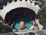Spectacular dive - No vertigo ! (fun funny spectacular humour joke omg lol)