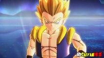 DBZ Remastered - SSJ Goku & SSJ Vegeta Vs. Super Buu Gohan Absorbed (1080p HD)