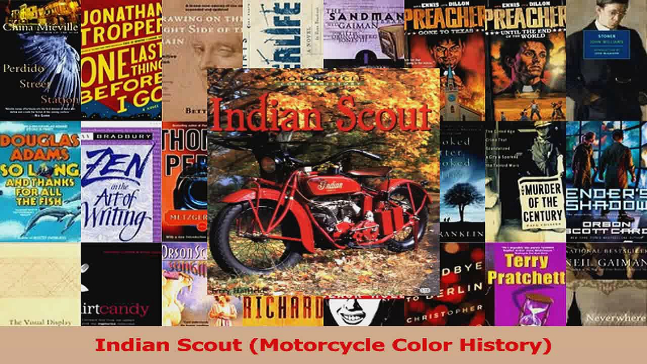 PDF Download  Indian Scout Motorcycle Color History Download Full Ebook