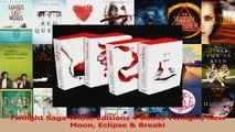 Download  Twilight Saga White Editions 4 Books Twilight New Moon Eclipse  Breaki PDF Online
