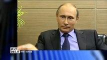 Pour Vladimir Poutine, Sepp Blatter mérite... Le prix Nobel