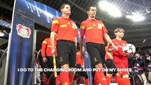 Christoph Kramer at the BayArena -- Gamedayplus -- adidas Football