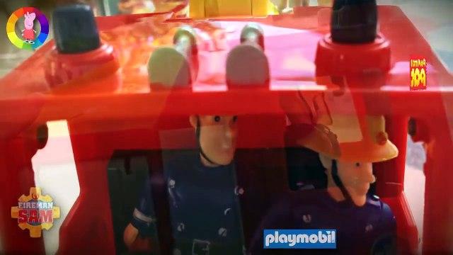 Playmobil (Brand) New Fireman Sam Episode with Toys Playset Postman Pat Peppa Pig English 2015