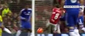 Juan Mata Fantastic Crossbar Almost GOAL - Manchester United vs Chelsea