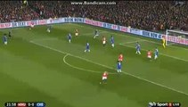 Manchester United BIG CHANCE MANCHESTER UNITED 0-0 CHELSEA 28-12-2015