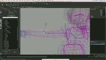 Tutoriel  Modélisation et Animation d'un Personnage Féminin sous Maya - Partie 03 - Rigging