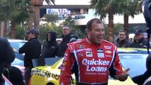13 NASCAR Champion drivers on the Las Vegas strip 2013 - introduction of drivers