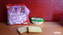 Sandwich au Nutella & Chamallows