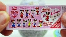 kinder Play Doh Kinder Surprise Eggs Disney Frozen Hello Kitty Peppa Pig egg minnie kinder