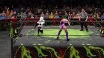 WWE 2K16 lady death v sindel