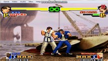the king of fighters super kof combos kim 1