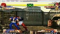 the king of fighters super kof combos iori 7