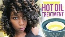 DIY Overnight Hot Oil Treatment For Shiny Baby Soft Hair - Naptural85