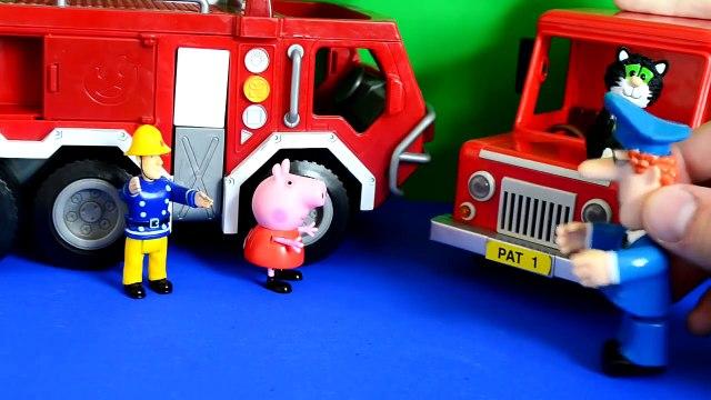 toys New Peppa pig fireman sam postman pat thomas and friends Episode Toys fireman sam episode