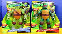 Nickelodeon Teenage Mutant Ninja Turtles TMNT Head Dropin Leonardo & Raphael Spar