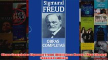 Obras Completas Sigmund Freud Biblioteca Nueva  New Library Spanish Edition