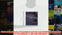 Clinical Handbook of Psychiatry and the Law CLINICAL HANDBOOK OF PSYCHIATRY  THE LAW