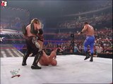 Chris Benoit, Chris Jericho & Spike Dudley vs Stone Cold, Bubba Ray & D-Von Dudley (RAW 18.6.2001)