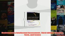 Contemporary Intellectual Assessment Third Edition Theories Tests and Issues
