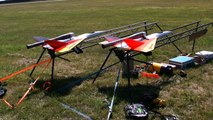 2X RC PULSO JET IN THE AIR LOUD AND FAST PULSO TEAM JESS / Meeting Days of Speed and Thund