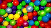 Unboxing Surprise Boules De Couleur 8. Aire de jeux de Jeu Amusant où les Enfants jouent